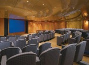 Cruise ship theater used for meeting space