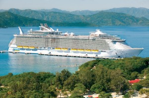 Incentive cruise on Royal Caribbean Allure of the Seas in Labadee
