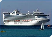 Types and Sizes of Ships: Mega cruise ship used for meetings, incentive cruises