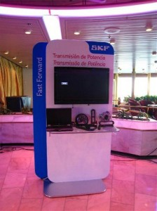 SKF Trade show on Majesty of the Seas