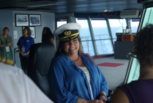 Pam Myers, pictured on Rock Legends Cruise III, February 2015