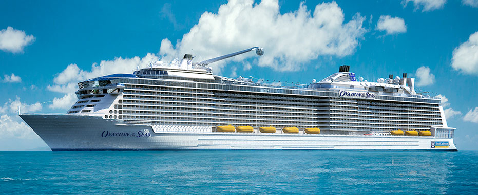 Royal Caribbean's Ovation of the Seas will home port in Sydney