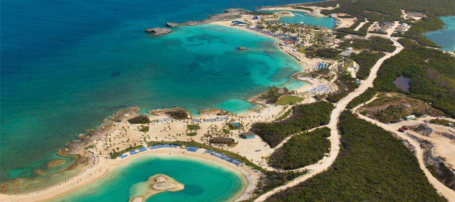 Short cruises to Bahamas include day at Great Stirrup Caye
