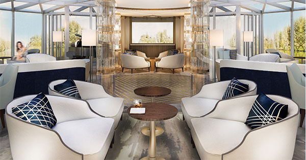 Luxury river cruises -Crystal River Yacht Palm Court