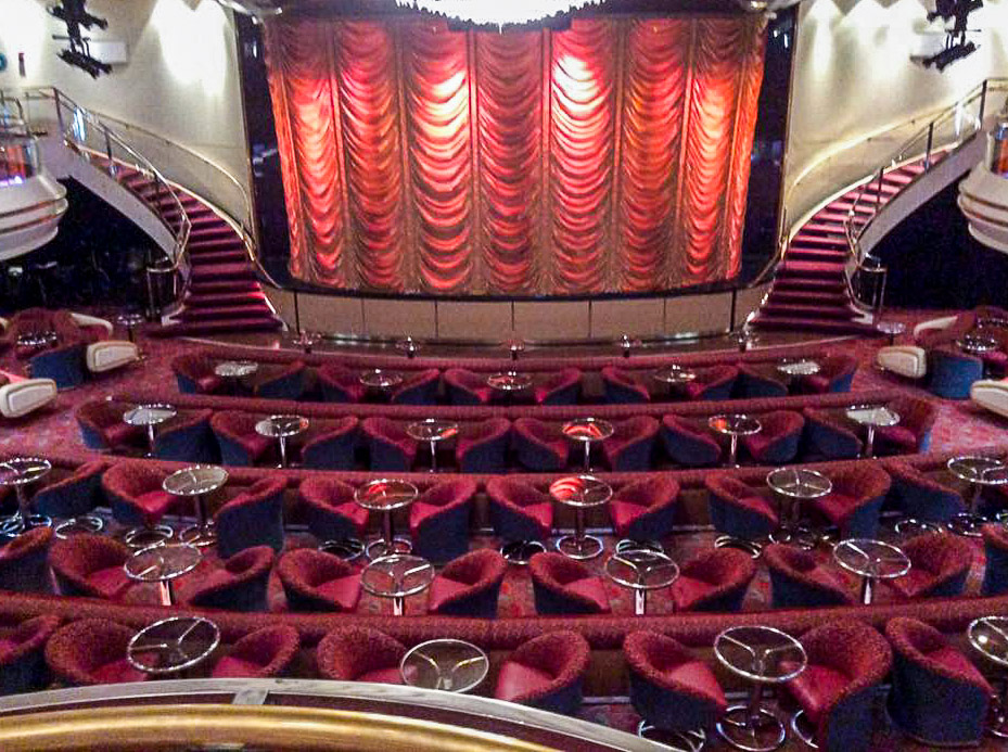 Empress of the Seas Theater