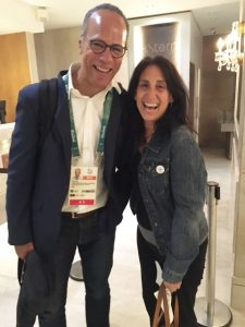 Lester Holt and Marianne Schmidhofer in Rio for Olympics