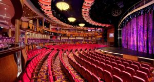 Allure of the Seas Theater - reasons to meet on a cruise shiip