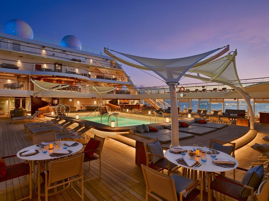 New luxury cruise ship Seabourn Encore