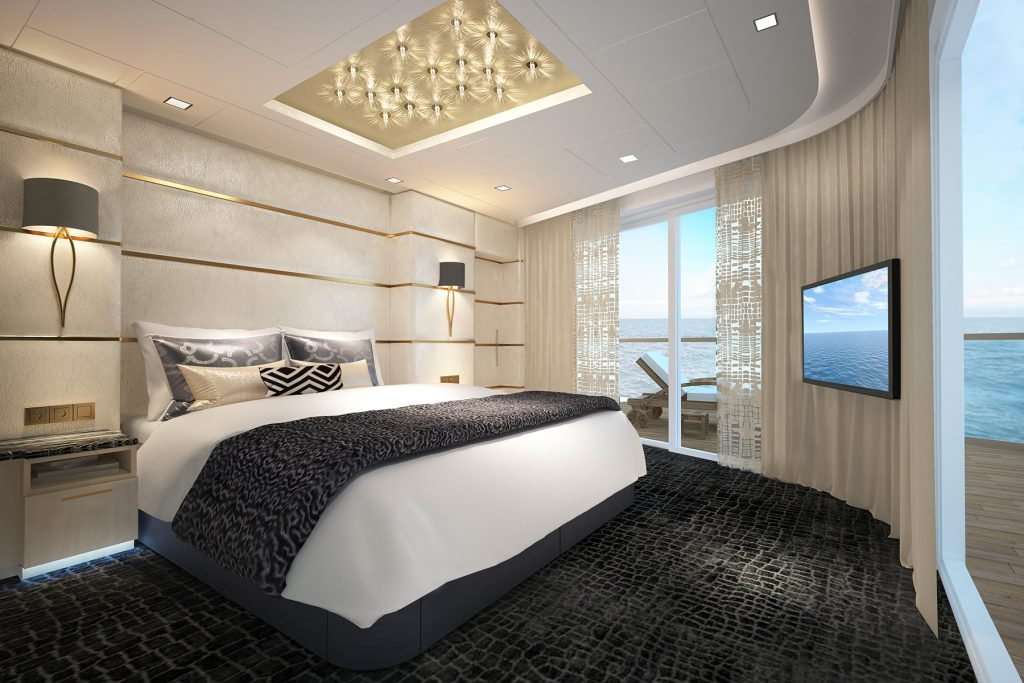 The Haven Deluxe Owners Suite on Norwegian Bliss