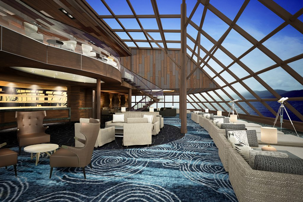 Norwegian Bliss - The Haven Observation Lounge