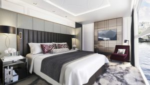Crystal River Yacht suite (rendering) - cruise event trends