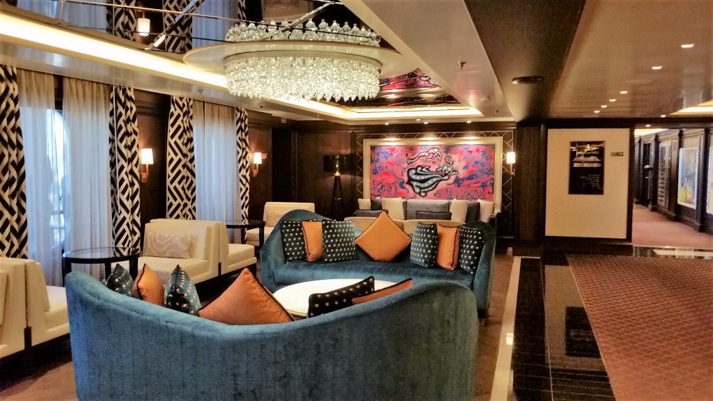 Seven Seas Explorer Lounge Area