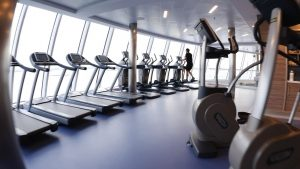 Anthem of the Seas Fitness Center - add wellness to meetings & incentives