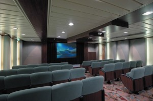 Meetings on ships: meeting room AV on a cruise ship
