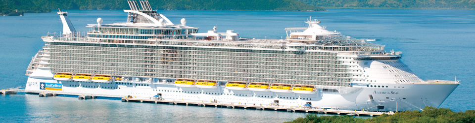 Royal Caribbean ship used for dockside charter