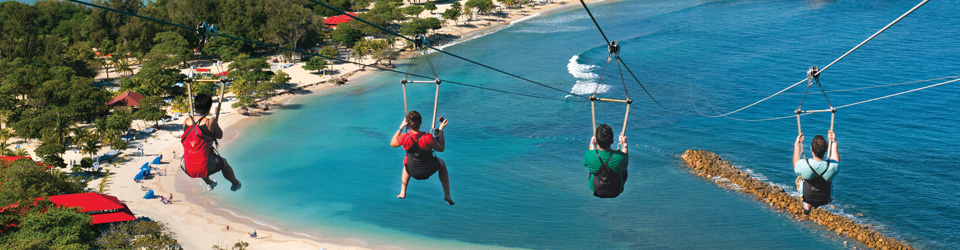 Royal Caribbean Zipline at Labadee, Haiti