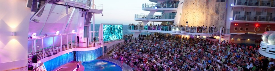 Allure of the Seas AquaTheater