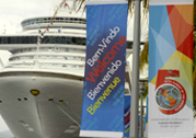 Cruise ships chartered as floating hotels for global event in Trinidad