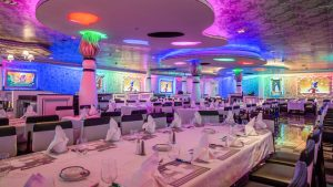 Global Business Meeting on Disney ship - private dining