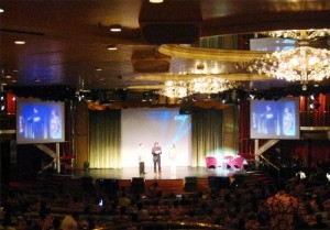 SKF Distributor Convention - General Session on Majesty of the Seas