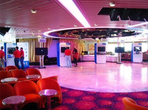SKF Tradeshow booths on Majesty of the Seas