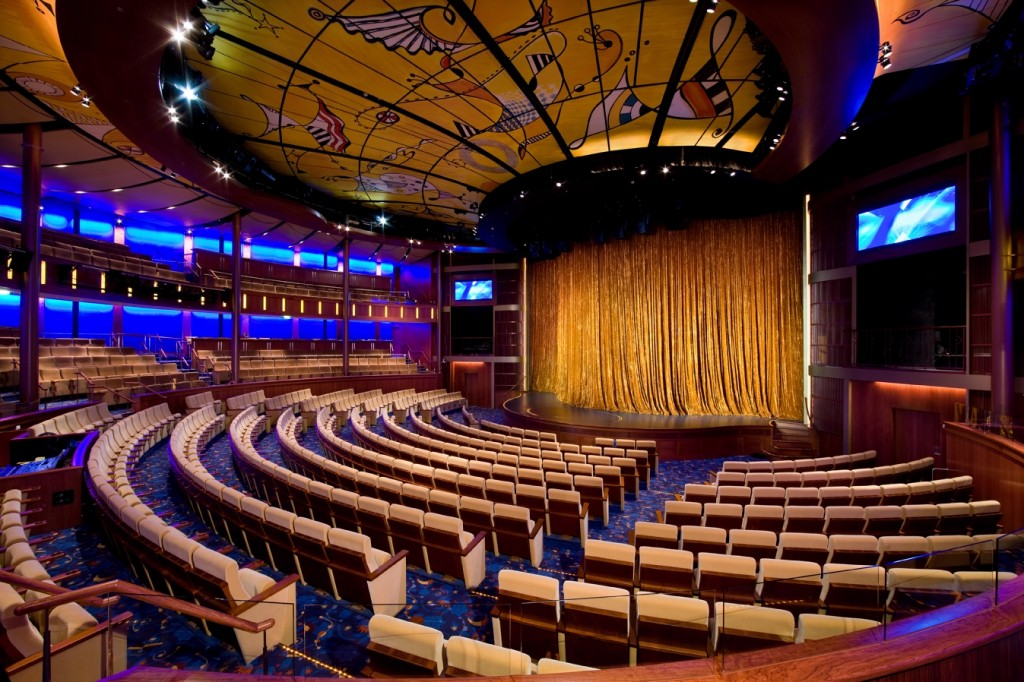 Solstice Theater on Celebrity Solstice used for group events and meetings