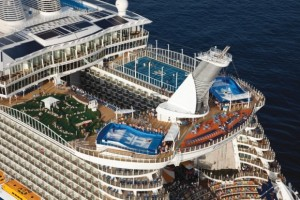Allure of the Seas Sports Deck