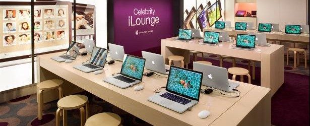 Celebrity Cruises iLounge with Apple products