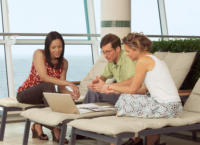WiFi Meeting on Royal Caribbean ship - reasons to meet on a cruise ship