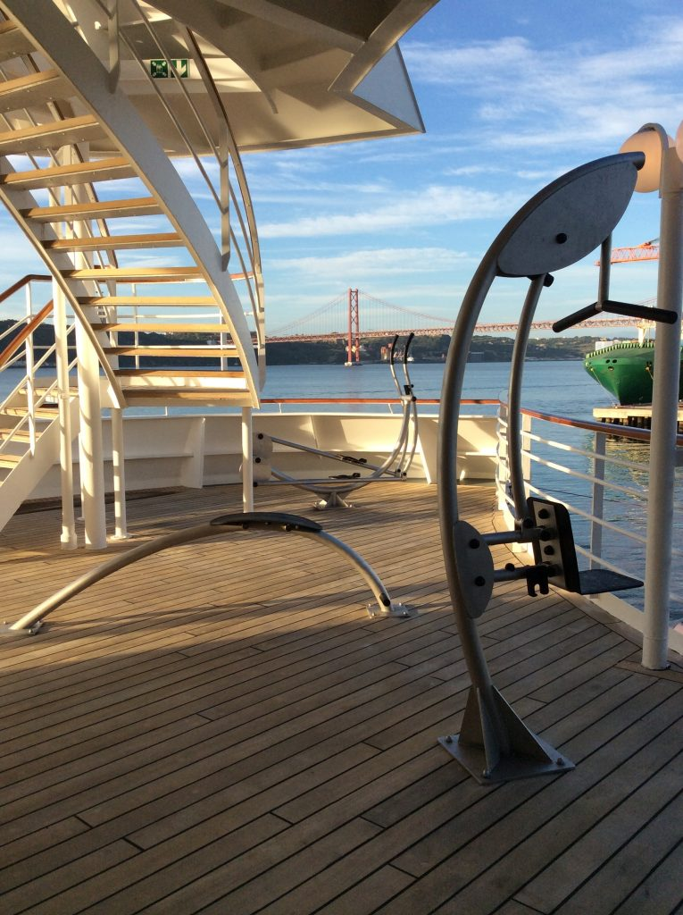 Crystal Symphony Outdoor Fitness
