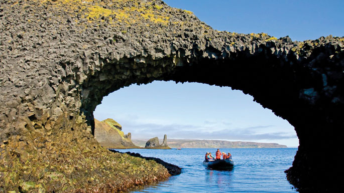 Incentive cruise to Iceland Lindblad zodiacs