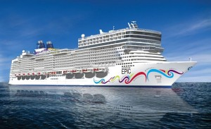 Distributor sales meeting cruise on Norwegian Epic