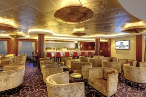 Norwegian Epic Lounge used for Distributor Sales Meeting Cruise