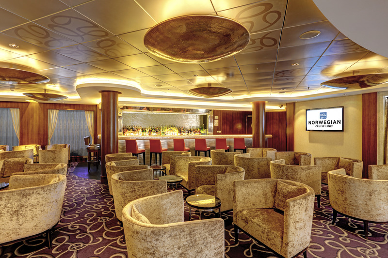 Norwegian Epic Lounge can be used for meetings
