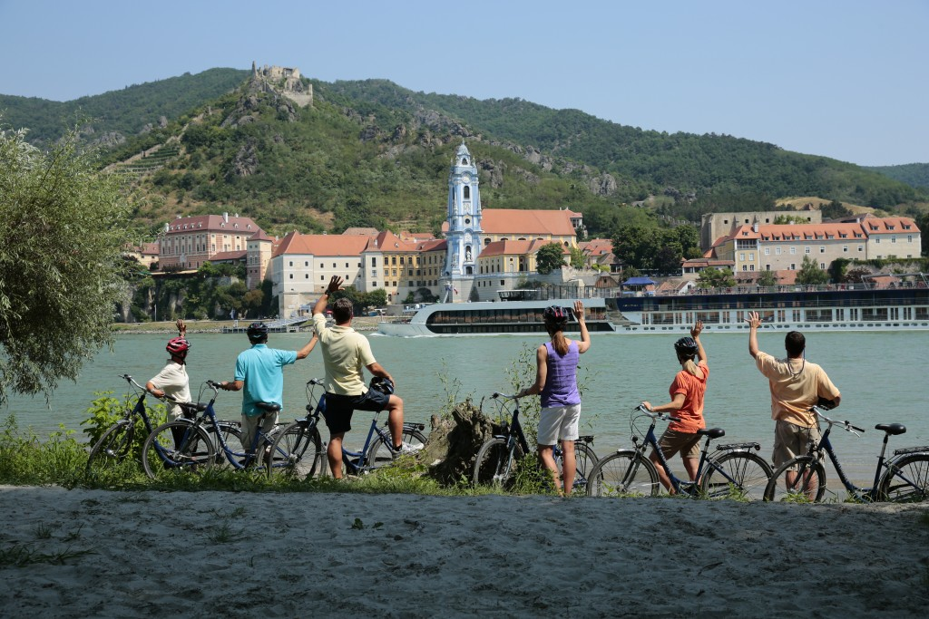 Bicycles on the Danube during AmaWaterways River Cruise