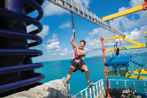 Norwegian Breakaway Ropes Course - Continuing Education Cruise