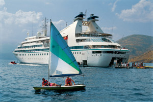Windstar Star Breeze Marina has complimentary water toys