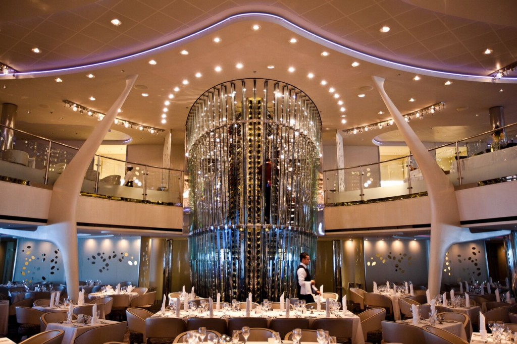 Celebrity Solstice Grand Restaurant - always complimentary