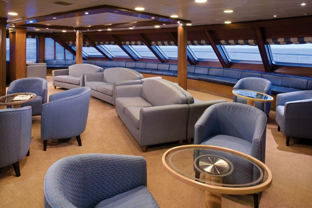 Silversea Expeditions Observation Lounge