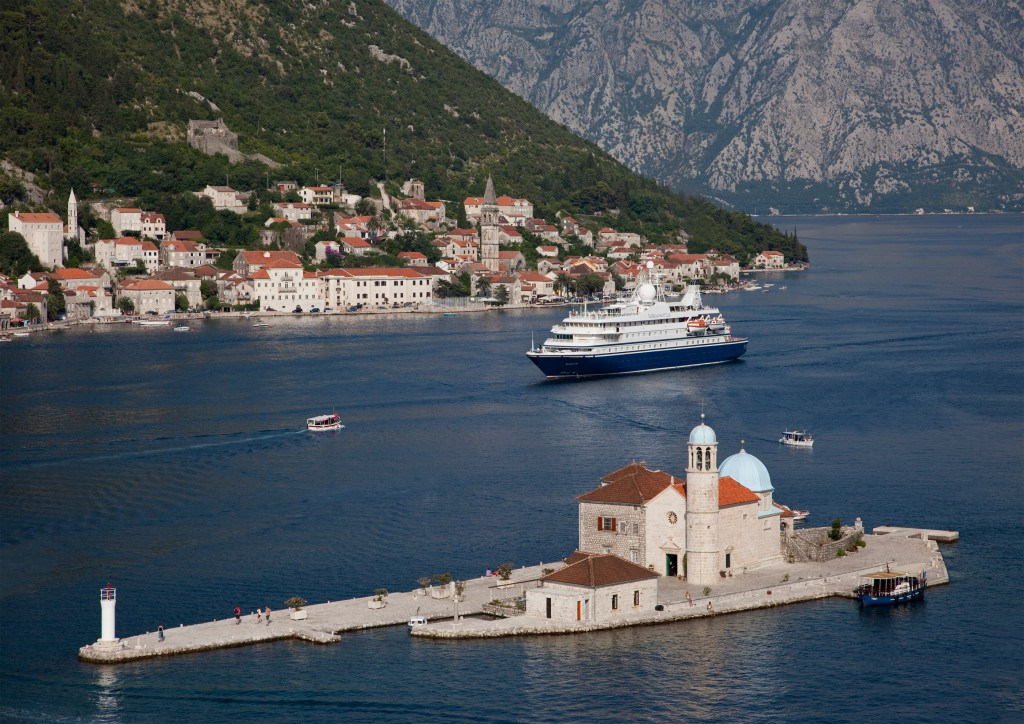 SeaDream Yacht in Kotor