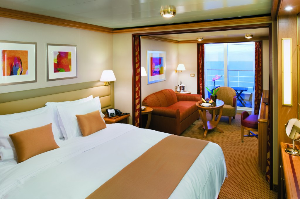 Veranda Suite on Silver Spirit