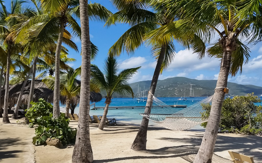 The Moorings Yacht charter in British Virgin Islands - a beautiful beach scene