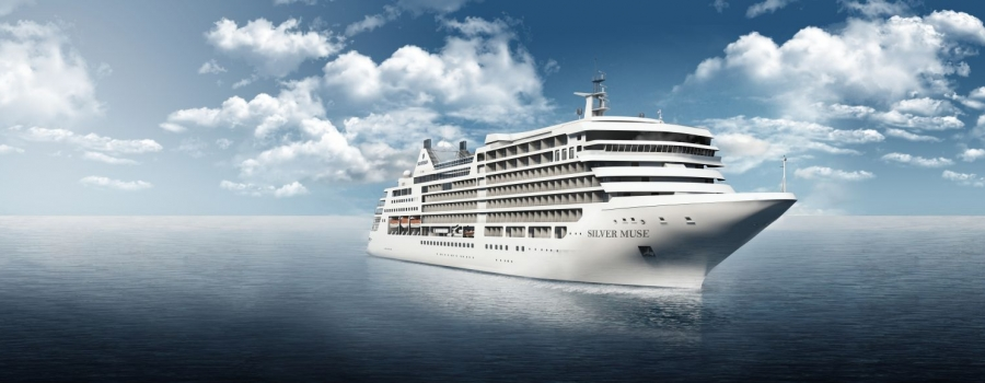 Silversea's newest luxury ship, 596-passenger Silver Muse