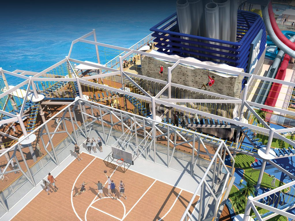 Norwegian Breakaway Sports Complex