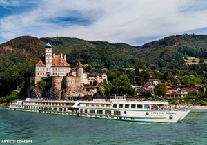 Booking ship charters: Crystal Mozart River Cruise