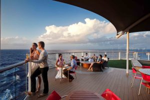 premium Caribbean cruises - Celebrity Sunset Bar