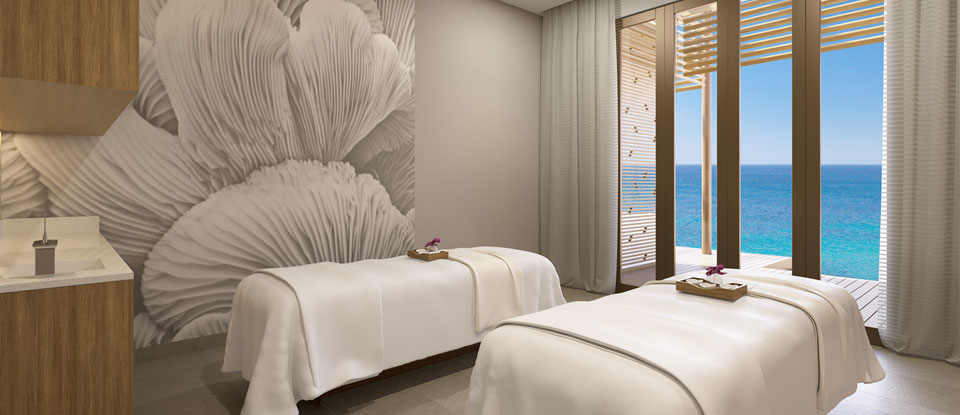 Norwegian Haven and suite guests have access to spa treatments on Great Stirrup Cay during short Bahamas cruises