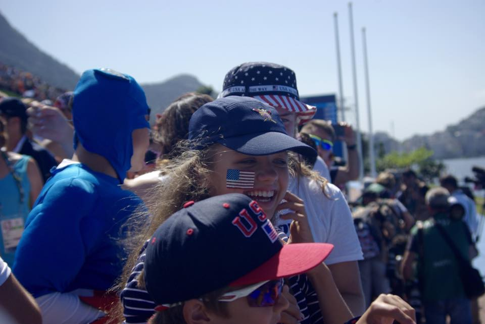 Rio 2016 Olympics-family-fans-USA-Rowing-Team