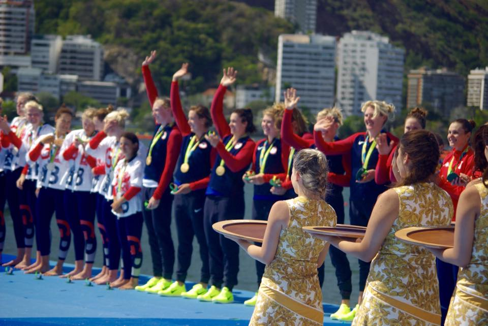 2016 Rio Olympics- Rowing Team Awards Ceremony