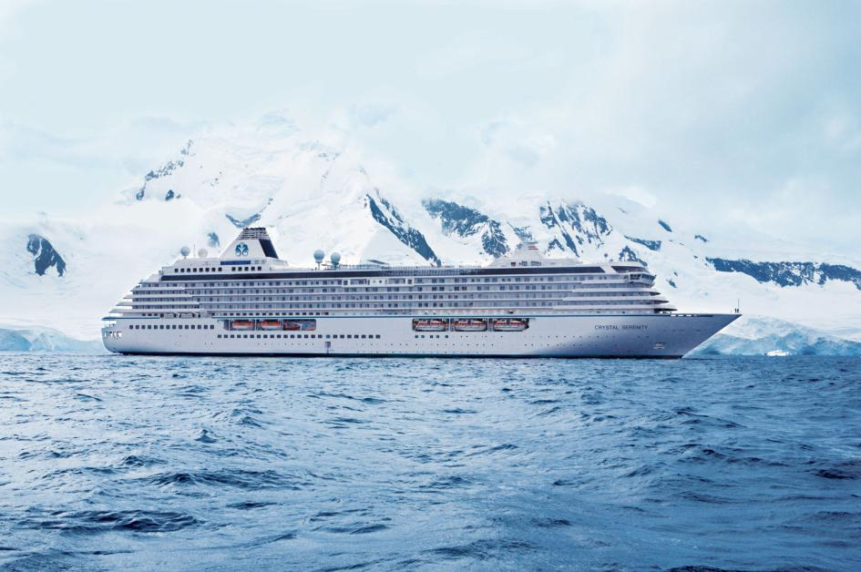 Crystal Serenity historic Northwest Passage voyage